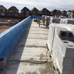 blue skin and waterproofing roofing service toronto